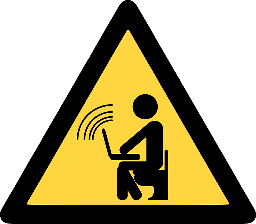 Choose Wi-Fi networks that are secure and limited to as few users as possible